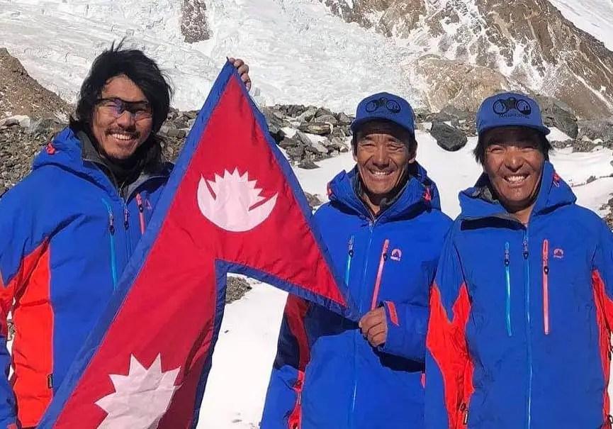 Sherpas du K2
