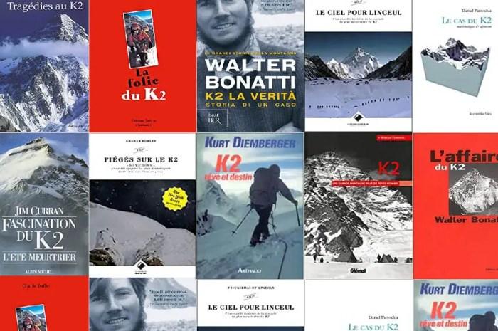 Le K2 dans votre bibliothèque : des livres pour refaire l'ascension !