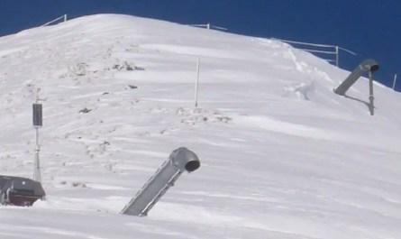 avalanches déclenchées