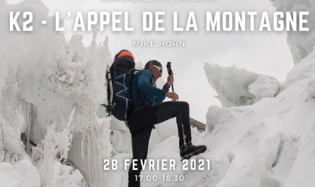 k2 mike horn conférence