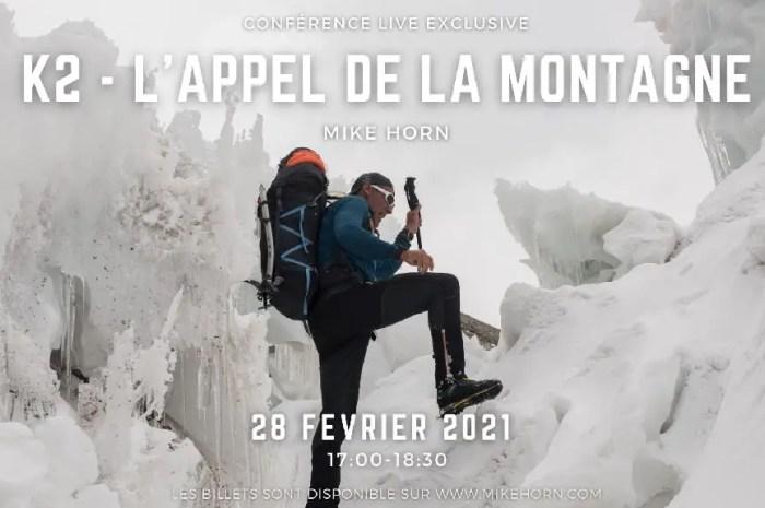 Mike Horn en expédition sur le K2 : la conférence en ligne !