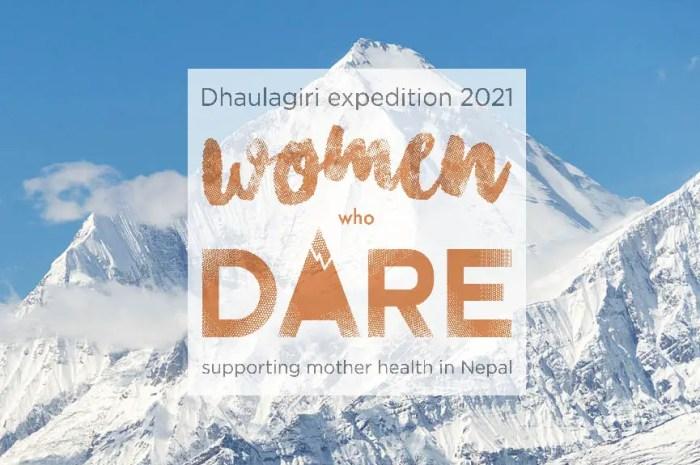 Expédition très féminine autour de Sophie Lavaud au Dhaulagiri !