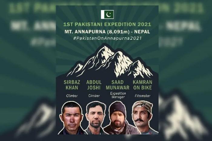 Ce printemps, une expédition pakistanaise vise l'Annapurna !