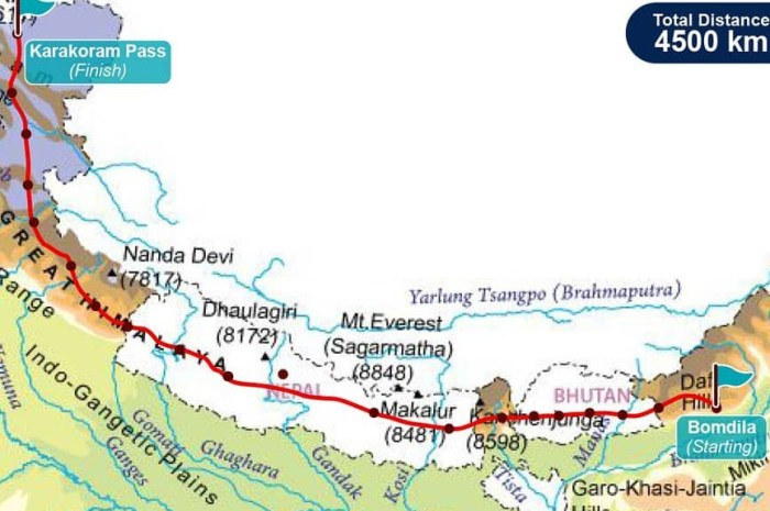 La traversée de l'Himalaya par une expédition de femmes de + de 50 ans !