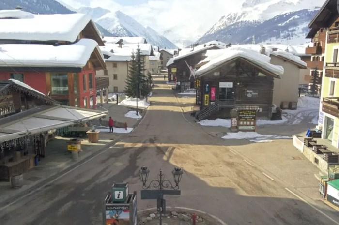 Nouvelles restrictions : la saison de ski est définitivement terminée en Italie