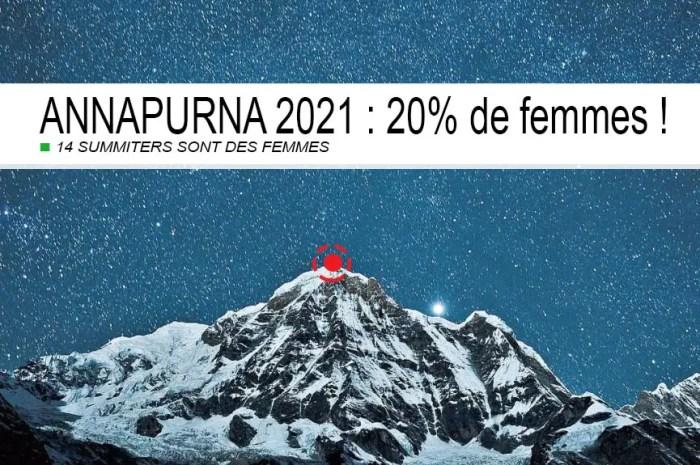 Record : 14 femmes au sommet de l'Annapurna, 8.091 mètres !
