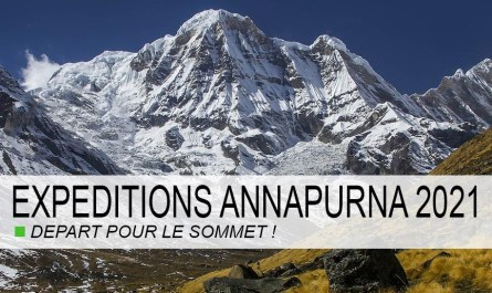Annapurna départ