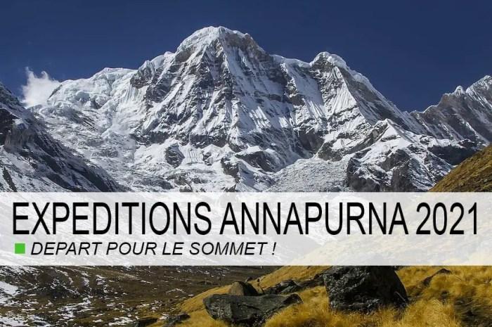 Annapurna : départ pour le premier sommet de la saison des 8.000 !