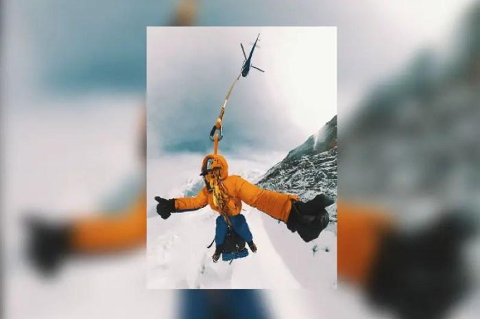 Annapurna : il appelle un hélicoptère taxi pour redescendre plus vite !