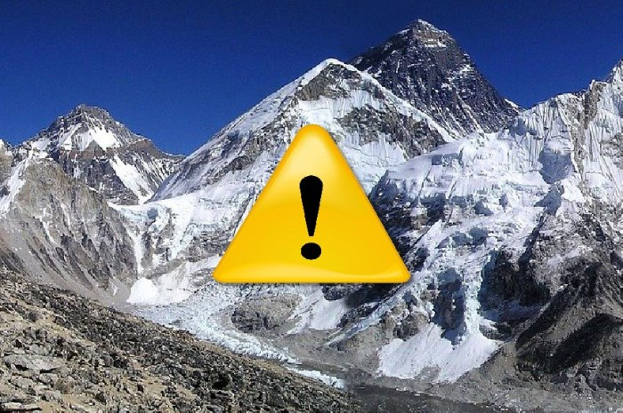 Effondrement sur l'Everest : deux blessés et l'accès au Camp 1 coupé !
