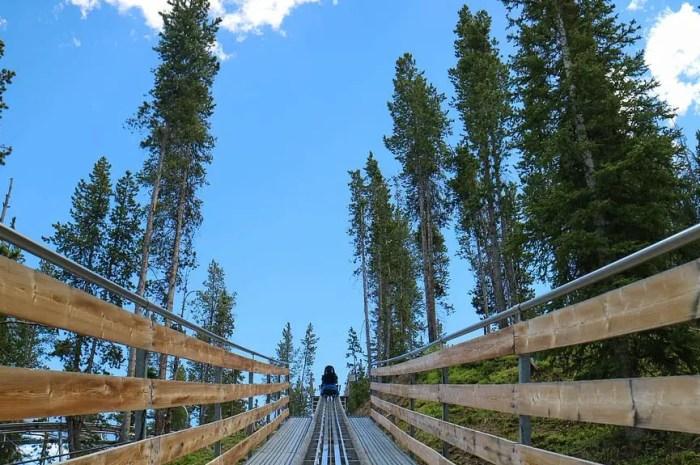 La plus longue luge sur rail au monde dans les Pyrénées espagnoles