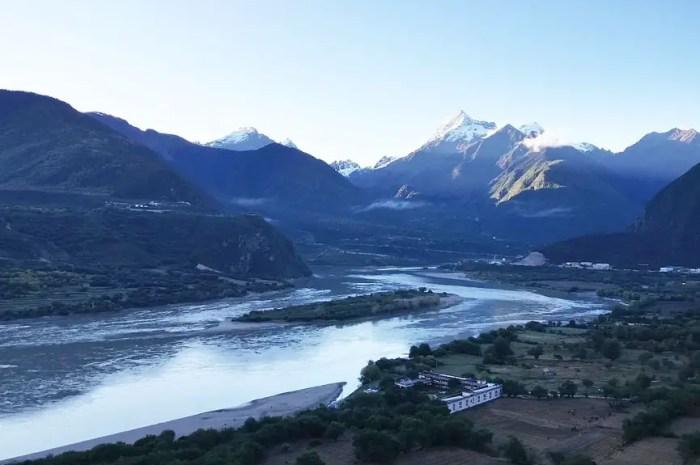 Les Chinois veulent construire un barrage géant aux confins de l'Himalaya
