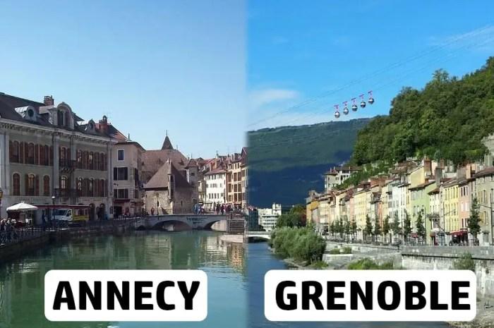 Annecy, Grenoble : un détour par les grandes villes des Alpes