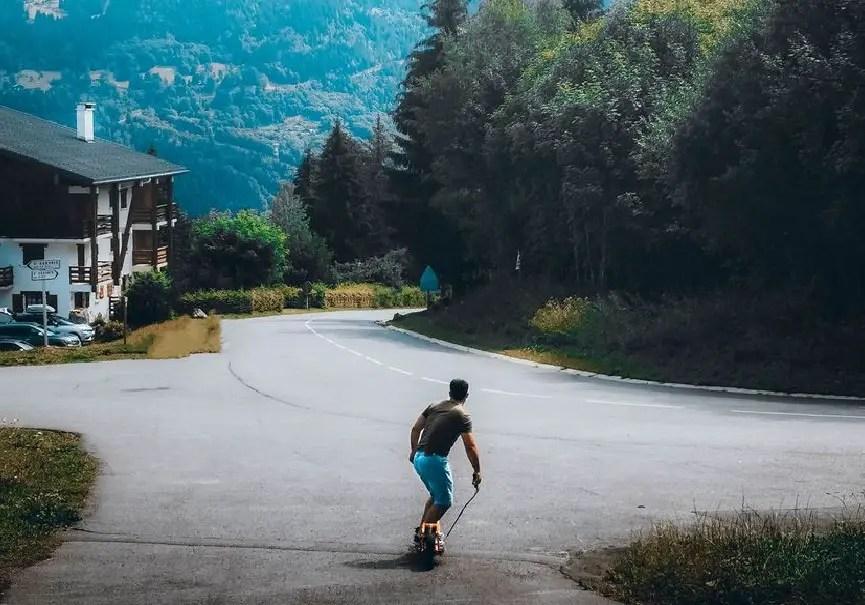 snowboard électrique