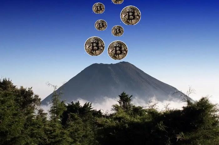 Les volcans du Salvador vont faire naître des bitcoins ?