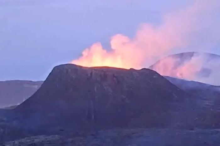 Mike Horn explore le dernier né des volcans islandais !
