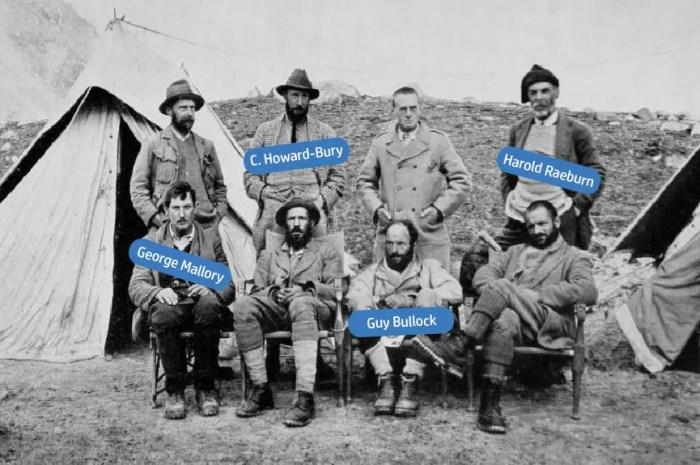 Eté 1921 : la toute première expédition explore l'Everest !