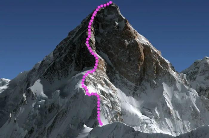 Il y a 30 ans, deux Français ouvraient l'arête Nord-Ouest du K2 !
