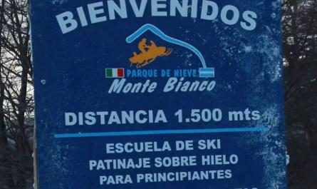 monte bianco argentine