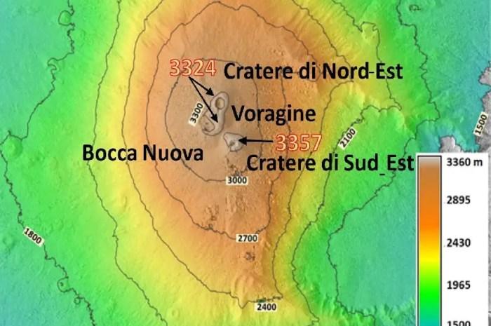 Le Volcan Etna a grandi de plusieurs mètres !