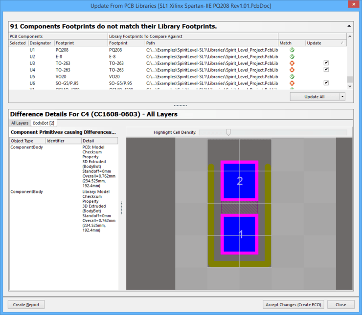 Creating the PCB Footprint Online Documentation for
