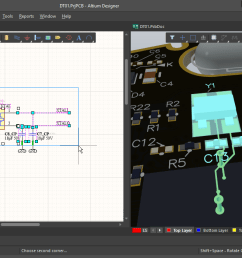 selecting components and nets on the schematic those objects are also selected on the pcb cross selection also works from the pcb to the schematic  [ 1200 x 700 Pixel ]