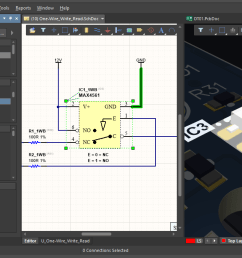 of altium designer is how easily you can move between the various elements of your design for example a click in the projects panel opens a schematic  [ 1200 x 677 Pixel ]