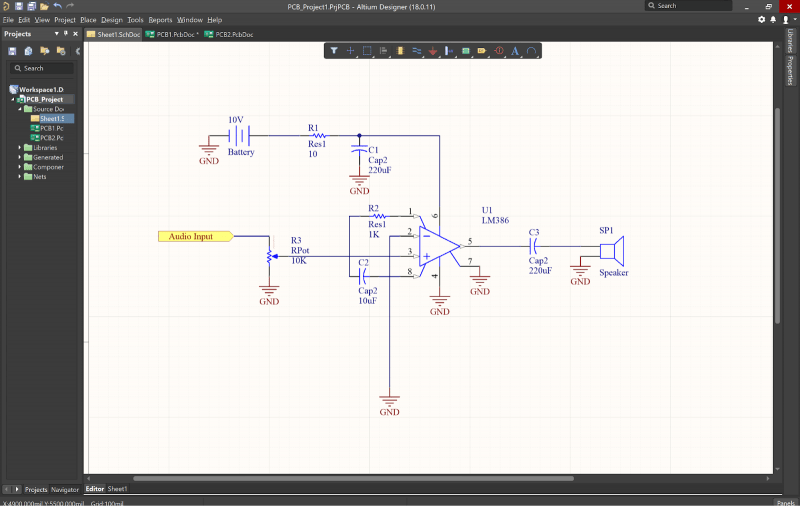 Circuit Diagram Schematic Drawing Software Circuit Drawing Software