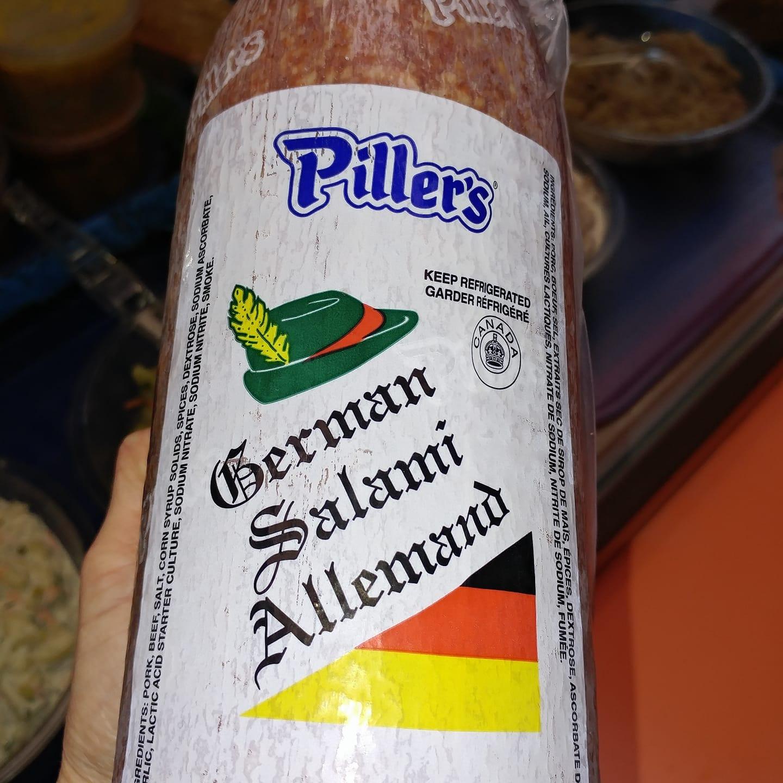 German Salami - oh yes!