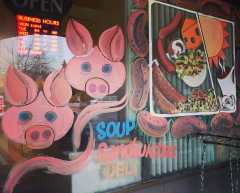 Our new window painting