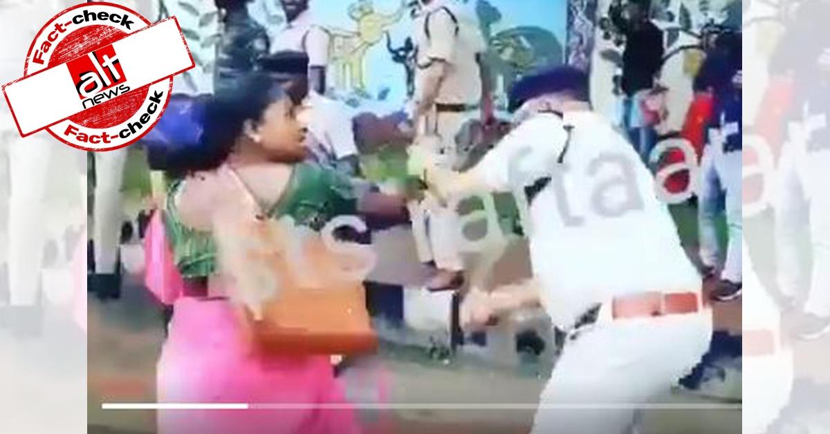 झारखंड का असंबंधित वीडियो CAB प्रदर्शन के दौरान पुलिस लाठीचार्ज के दावे से प्रसारित