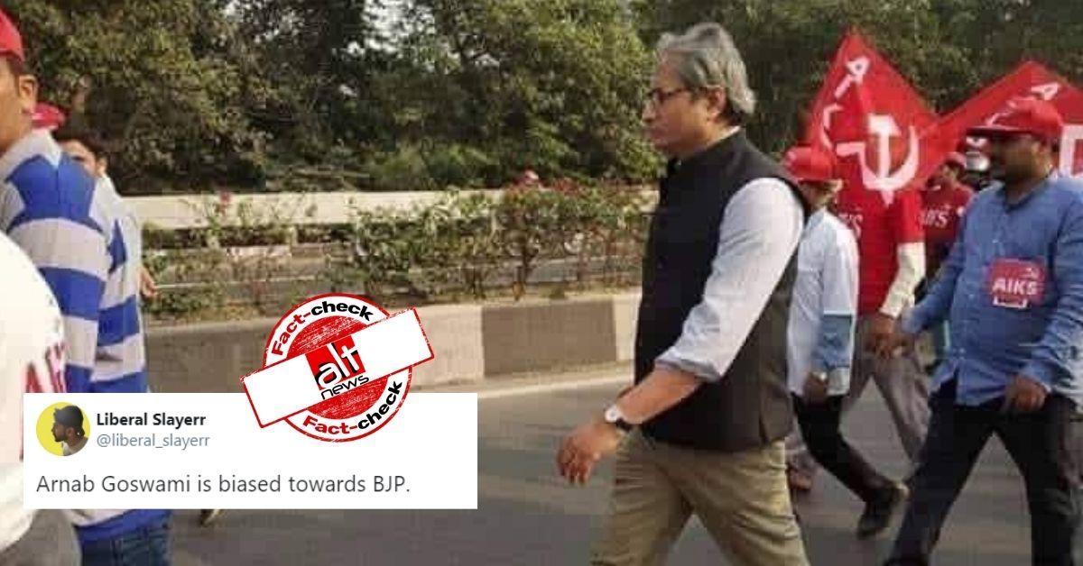 रवीश कुमार की 2018 की तस्वीर को अब उनका मज़ाक उड़ाने के लिए किया जा रहा इस्तेमाल
