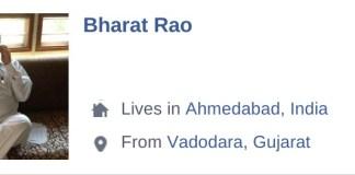 Bharat Rao Ahmedabad Lawyer