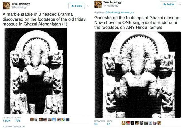 Trueindology, brahma in 2016, Ganesha in 2017