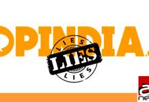 opindia lies