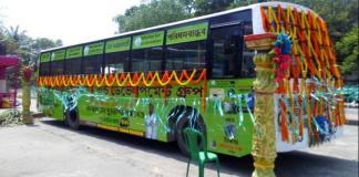 biogas bus kolkata (Courtesy Asian Age)