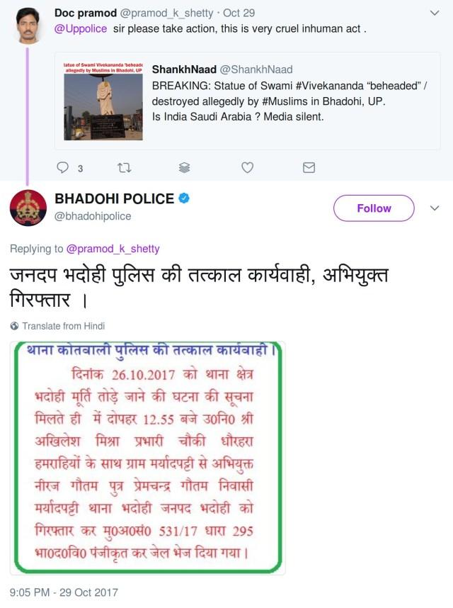 Bhadohi Police