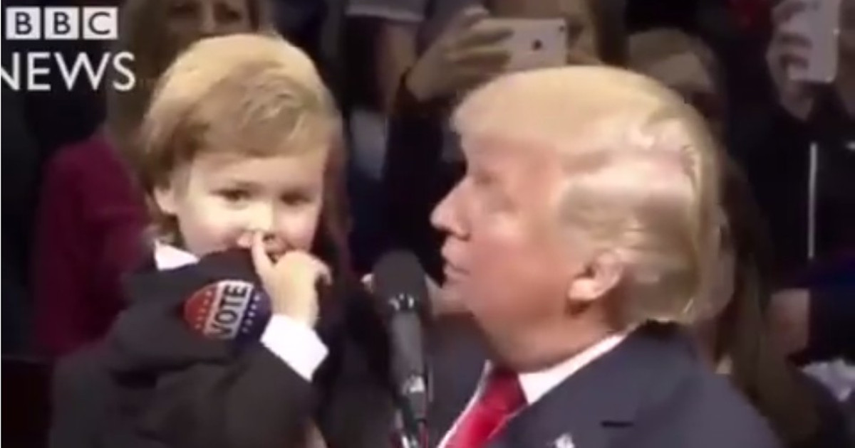 'Who do you like the most?' Guess what these Modi fans believe the child told Trump