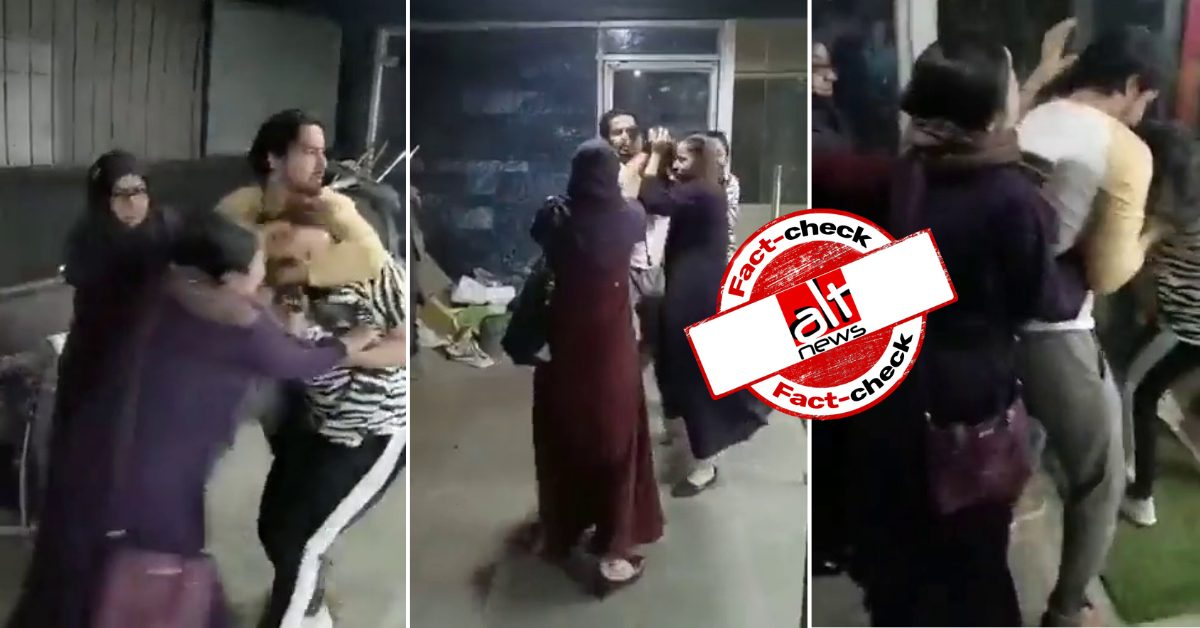 Wife beats husband, alleged girlfriend in Bhopal gym; incident communalised online