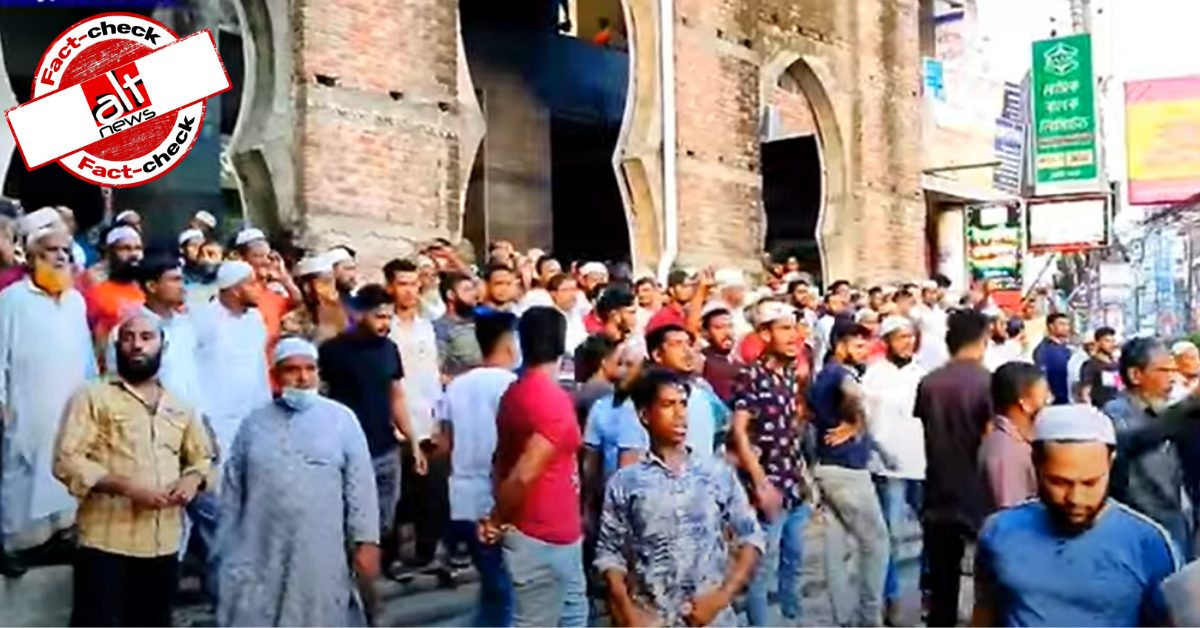 Video from Bangladesh viral as Muslims in West Bengal demand closure of Kali Temple
