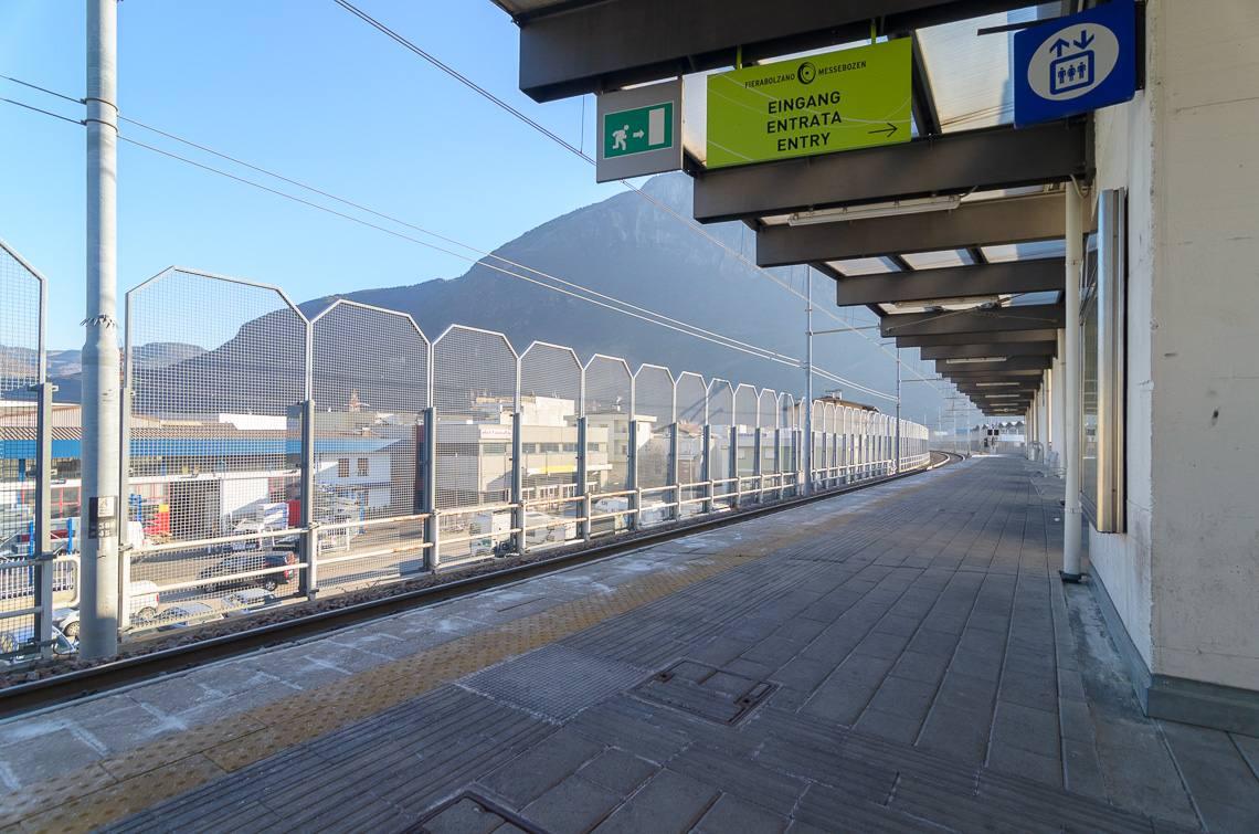 Stazione di Bolzano Sud  Fiera di Bolzano  Alto Adige per tutti