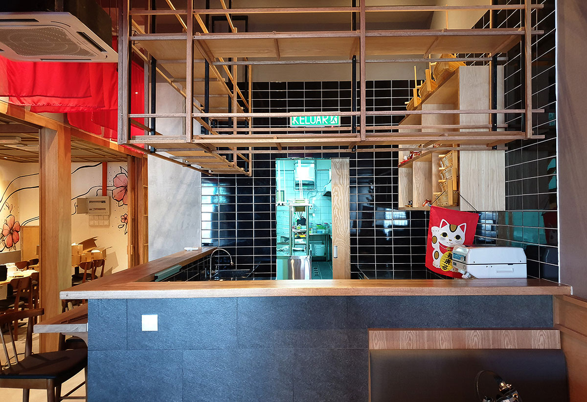 Japanese Restaurant Renovation and Timber Fitting Works