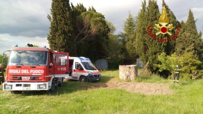 Uomo travolto da motozappa a Bellvedere di Gubbio, è ferito