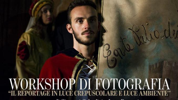 Workshop fotografico del Palio dei Quartieri, al via le iscrizioni