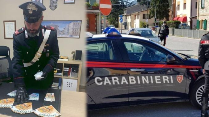 Sasso di di cocaina nel comodino, 190 dosi per 8000 euro