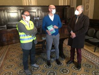 Lions Gualdo Tadino dona 40 guide della città in vista della tirreno adriatico
