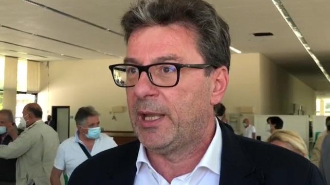Ministro Giorgetti a Nocera per ex Merloni, ricreare possibilità di lavoro