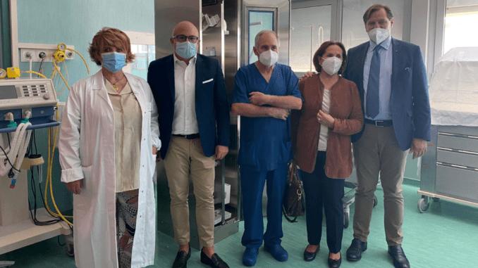 Usl Umbria 1 nuova donazione dell'associazione Aelc ospedale di Branca
