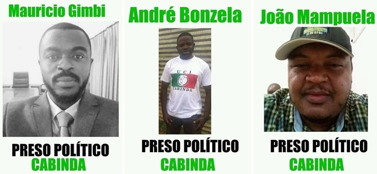 Cabinda : International organizations reject arbitrary arrests and demand immediate release of activists in the Enclave