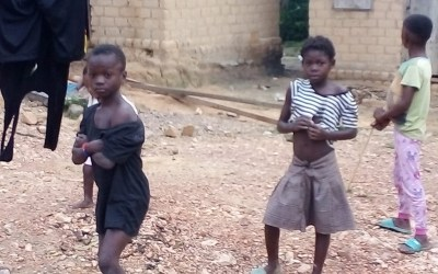 Cabinda, news by image : desolations and sorrows of the orphans of humanity
